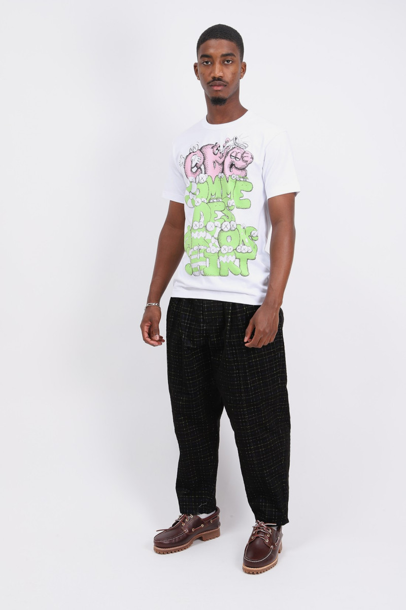Cdg shirt x kaws t-shirt White/print 4