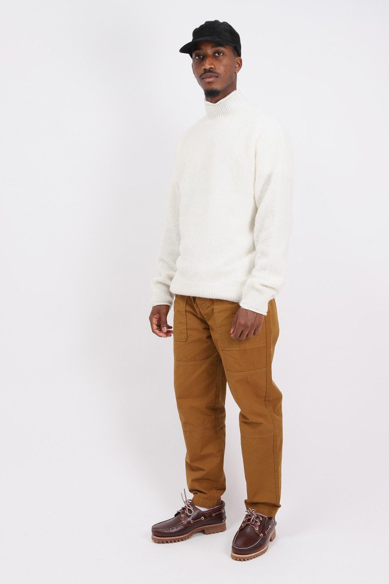 Diddy roll neck White