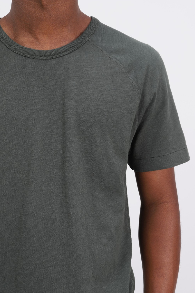 Television raglan t-shirt Green