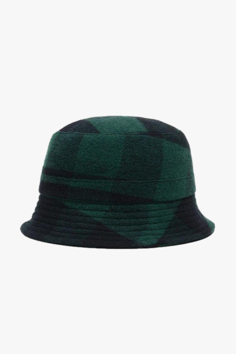 Bucket hat Blue/green