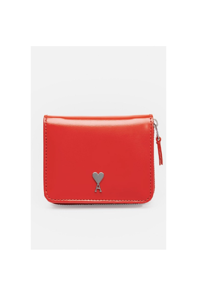 Compact wallet Red