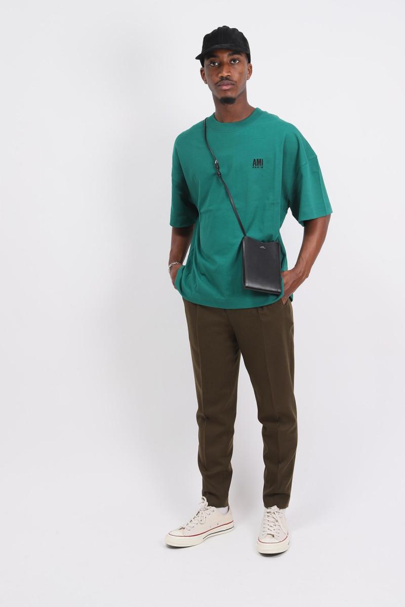 T-shirt oversize ami paris Vert