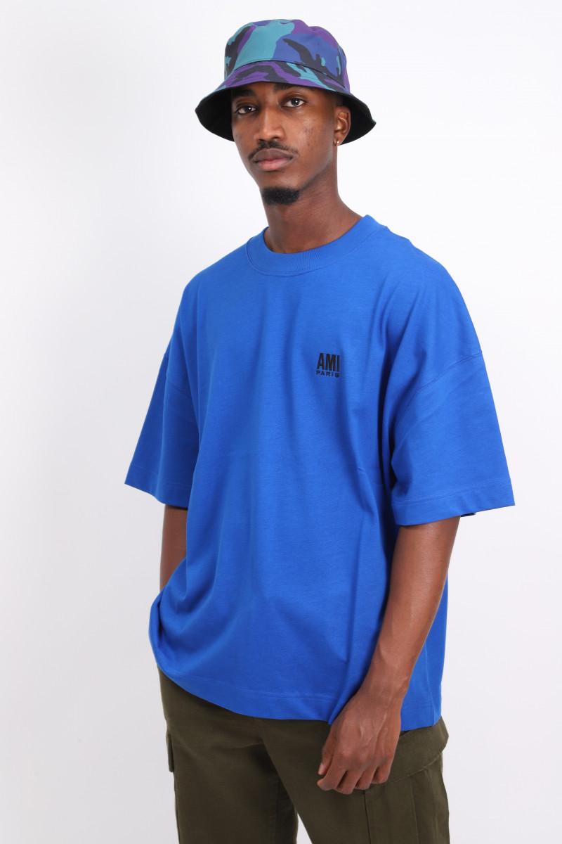 T-shirt oversize ami paris Bleu roi