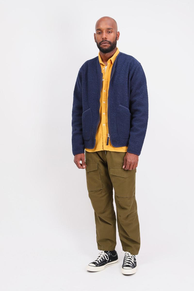 Zip liner jacket Navy