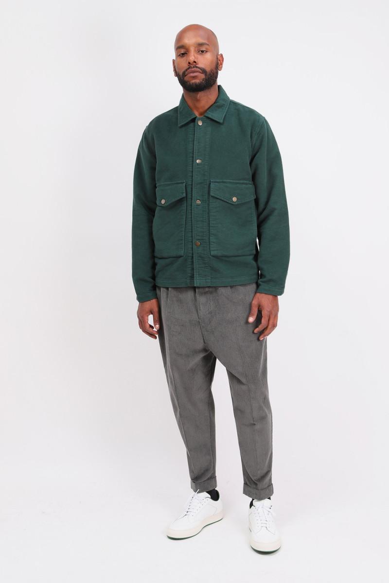 Corduroy carrot trousers Grey