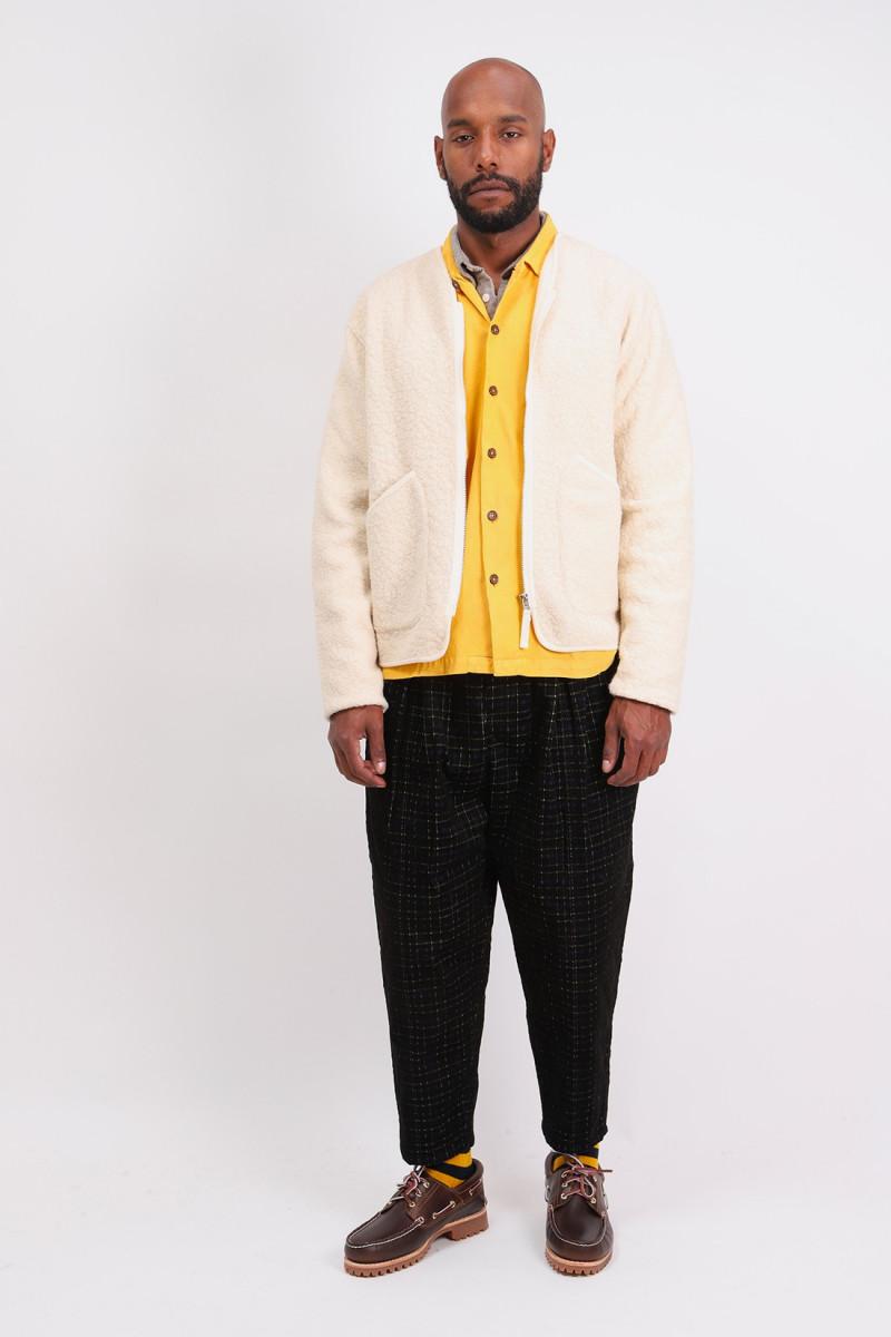 Zip liner jacket Ecru