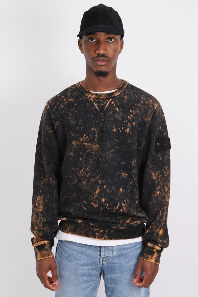 61538 acid wash sweater v0032 Arancio