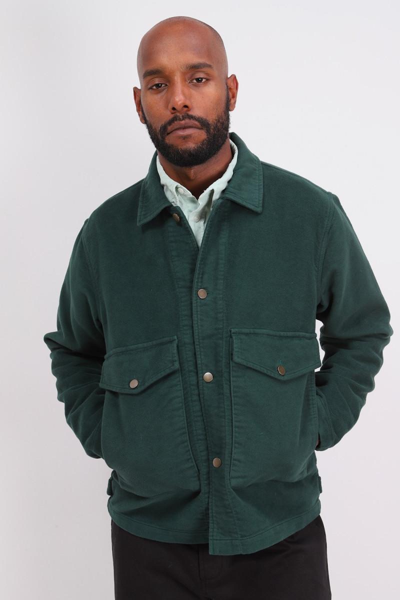 Nw jacket moleskine Forest green