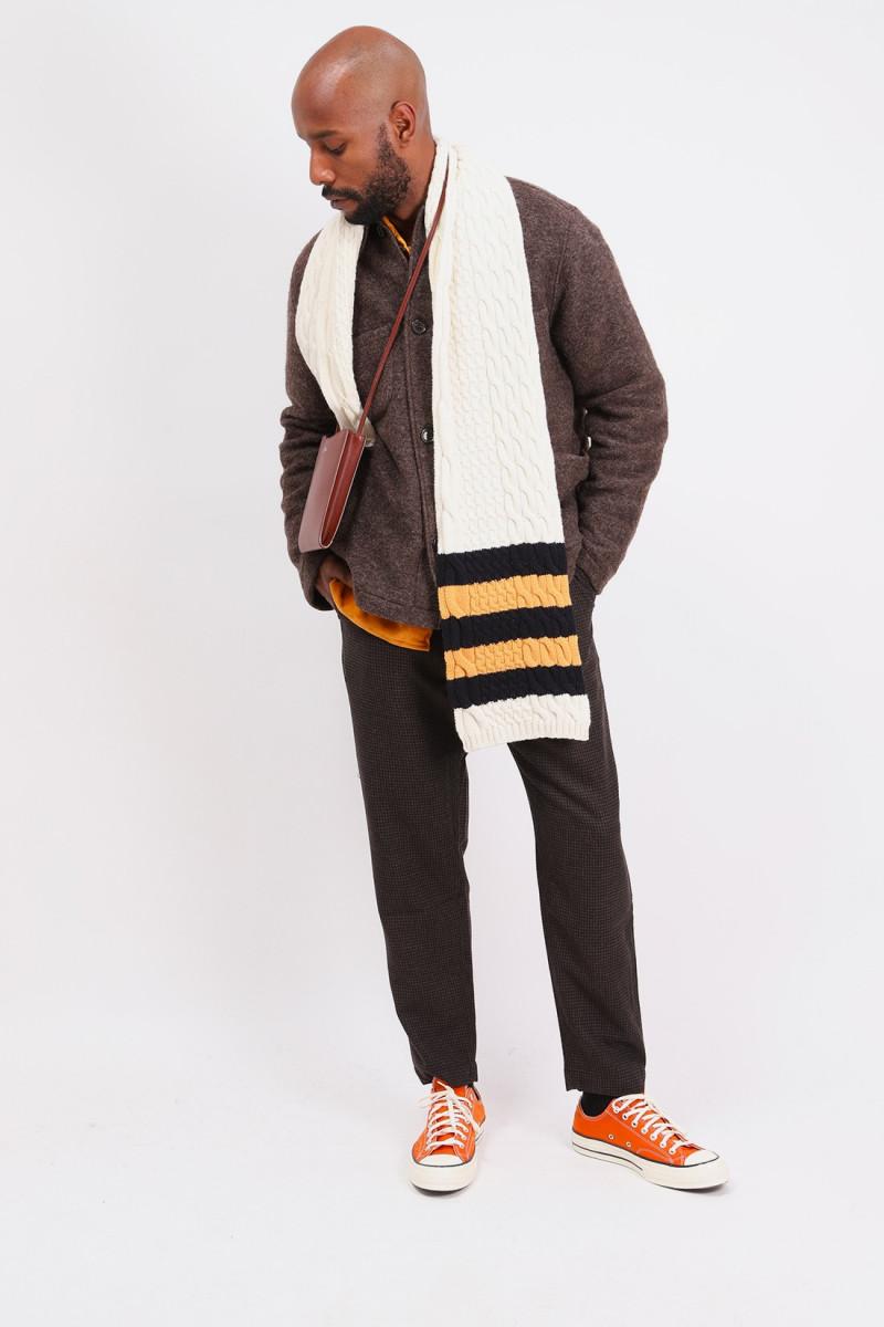Lumber jacket wool Brown