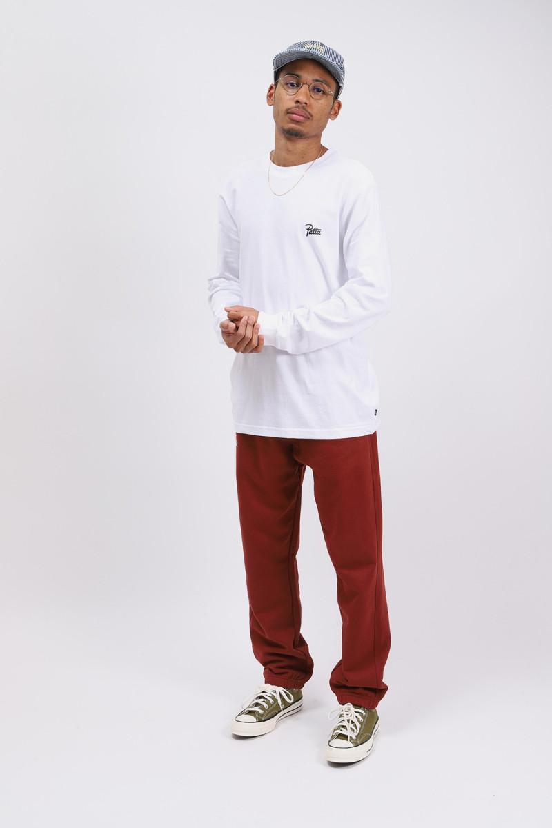 Patta basic longsleeve White