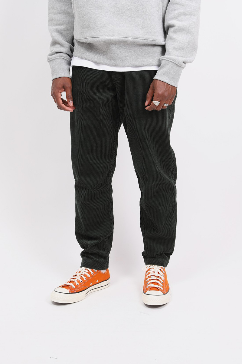 Military chino baby cord Forest green