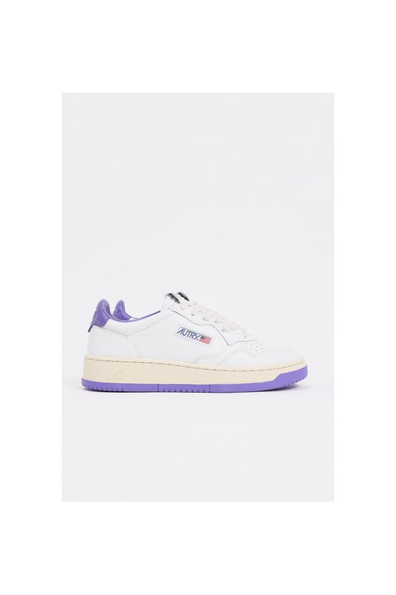 Autry bb47 Leat/leatwht/purple
