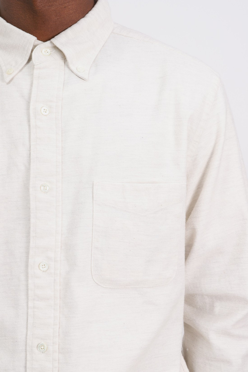 Bd flannel solid Off white