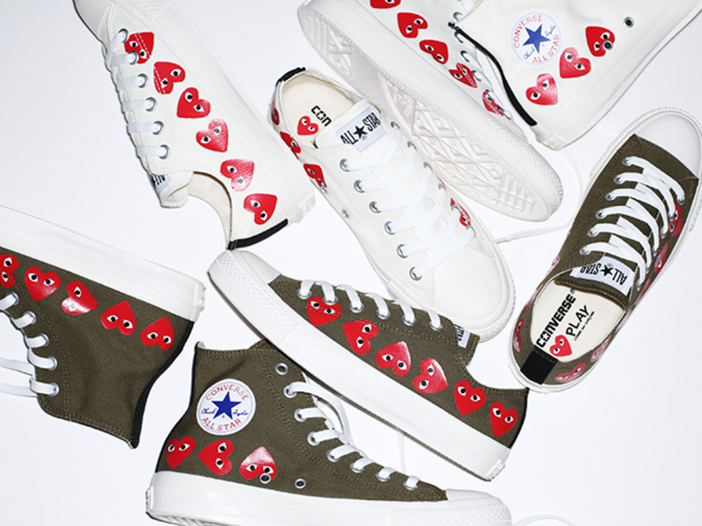 The collaboration between Converse and Comme des Garçons ...