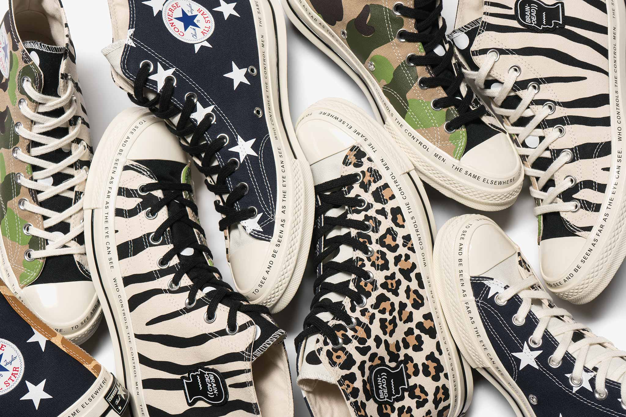 Converse, plus d'un siècle de collaborations Graduate