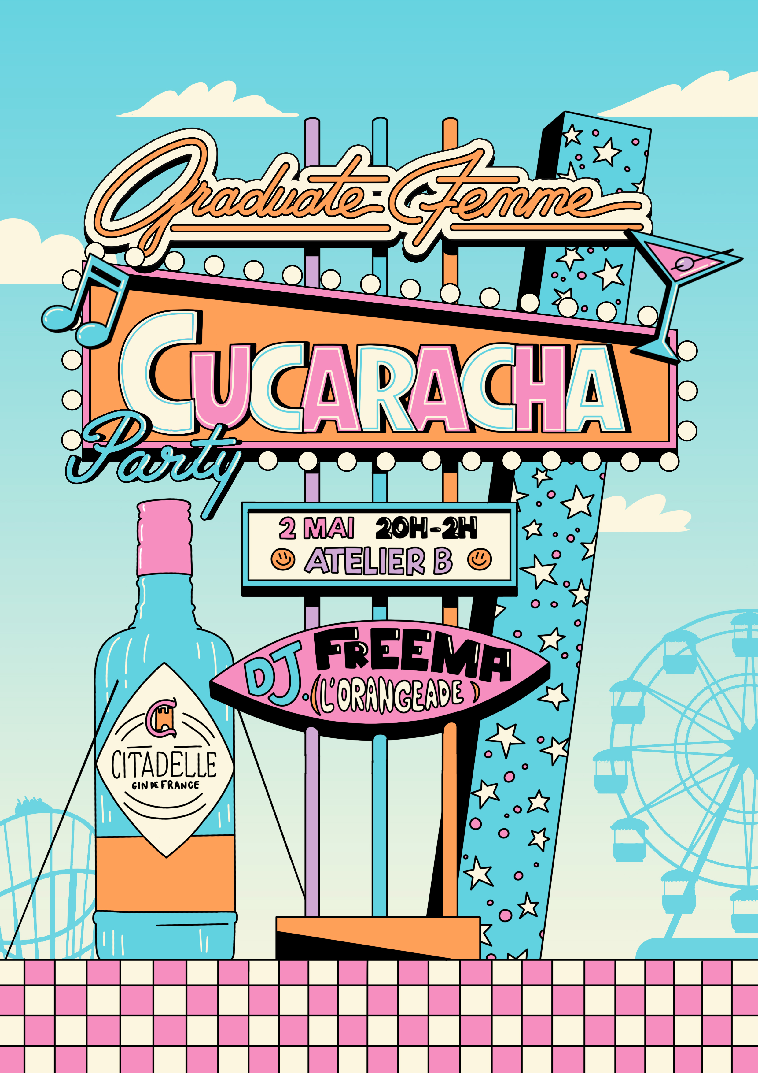 Cucaracha_Party_Visuel