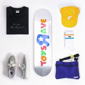 The full pack for a good sesh with @raveskateboardsNew summer drop available now Online and In Store