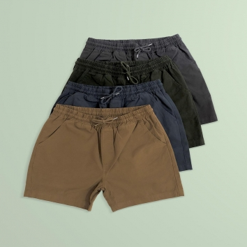 Cool shorts of the summer colorful standards drop are available now in our stores.
