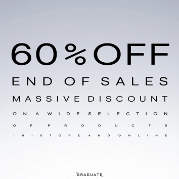 Season Ending Save 60% off on the SS21 Collection