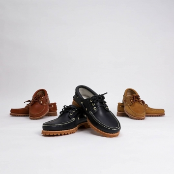 Timberland X Aimé Leon Dore 3-Eye Lug Shoe Enough to put New-York City at your feet.@timberland @aimeleondore